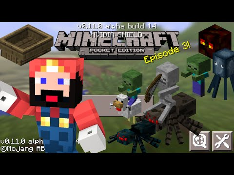 Minecraft Pocket Edition 0.11.1 Update Review (Boats, Skins, Paths and More)