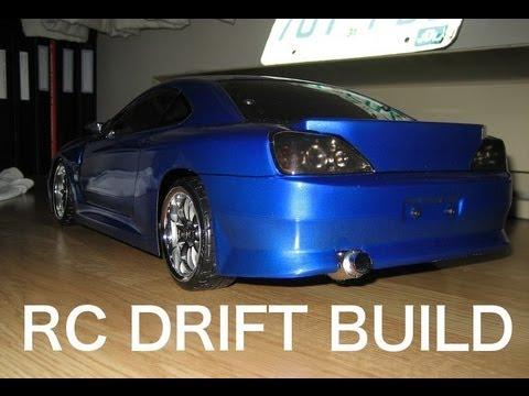 1/10 RC Drift Car Build