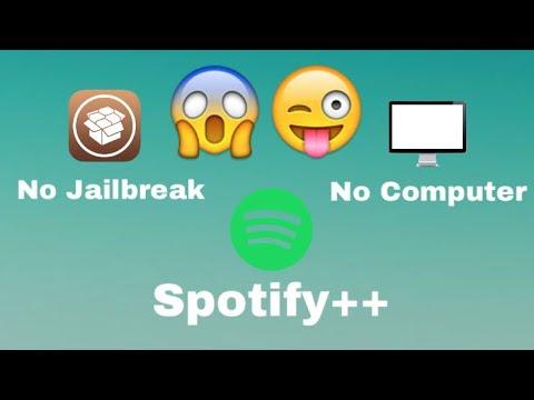Download Spotify++ No Jailbreak/Computer