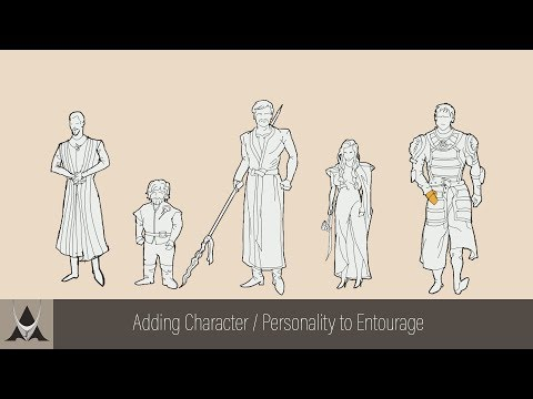 How to add more personality to your entourage