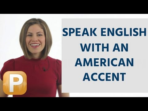 How to speak English with an American accent