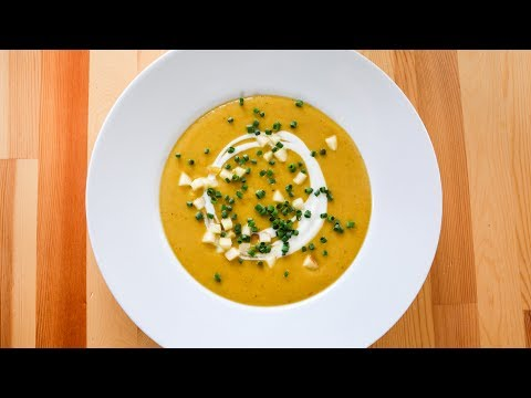 Curried Parsnip Soup | Vegan Friendly
