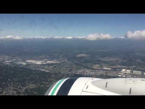 Landing in Seattle Tacoma (seatac)