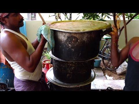 Vegetable Biryani for 140 People by Nuziveedu Chefs
