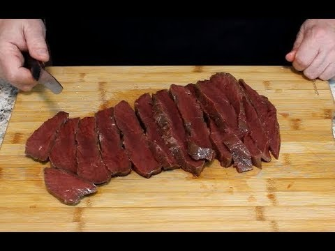 Fried Moose Heart!  (Venison at it's Best!)