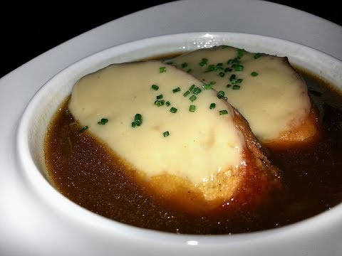 REAL Classic French Onion Soup - THE FULL MONTY! (professional Michelin Star restaurant recipe)