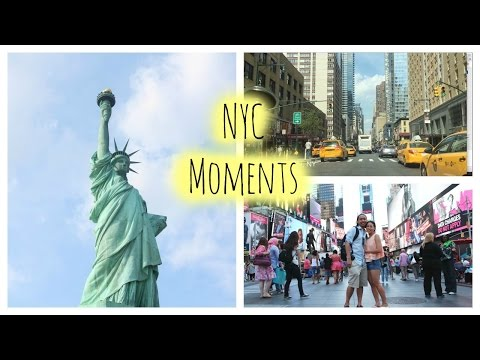 New York City Vlog: Manhattan, Central Park, Times Square, Wall Street, Brooklyn, Statue of Liberty