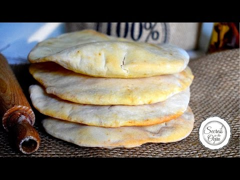 Pita Bread | How to Make Pita Bread at Home | Unleavened Flatbread Yeast Free