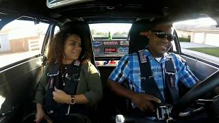 MY GIRL RIDES IN THE BIG BLOCK 489 NOVA 1ST TIME