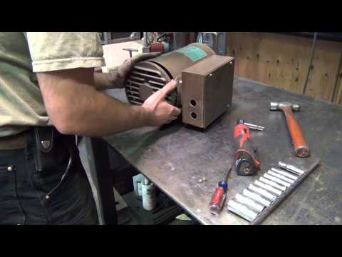 Air compressor motor troubleshooting part 2: stationary switch replacement