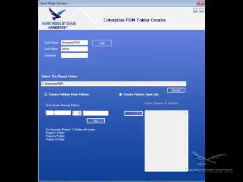 HawkWare Tools: Folder Creator