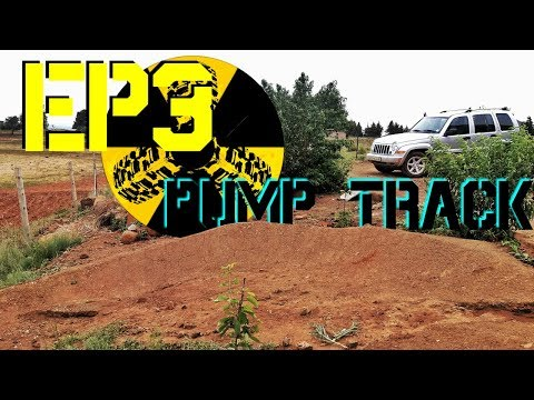 How to build a pump track berm