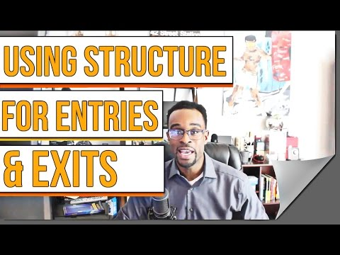 Learn To Trade Forex: Using Structure For Entries & Exits