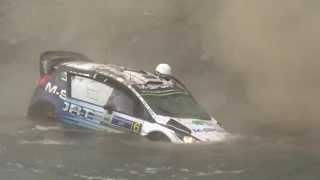 Ott Tanak crash. Best video! WRC rally Mexico 2015