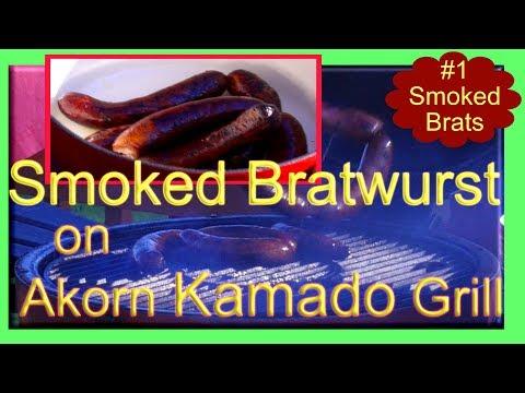 How To Make Smoked Bratwurst On An Akorn Kamado Grill