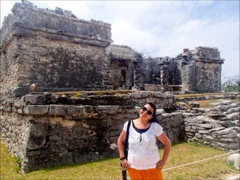 Vacaciones de mi hermosa madre en Mexico 2013