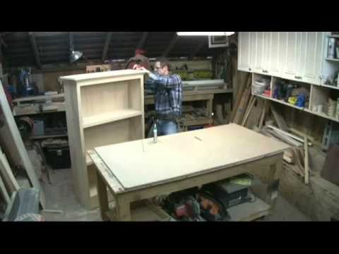 Kreg Power Tools   How to Build a Bookcase   Part 4