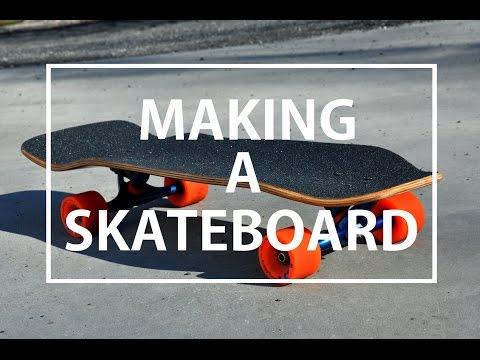 Making a Longboard/skateboard | timelapse