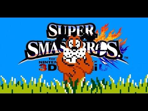 Super Smash Bros.U Unlocking Duck Hunt