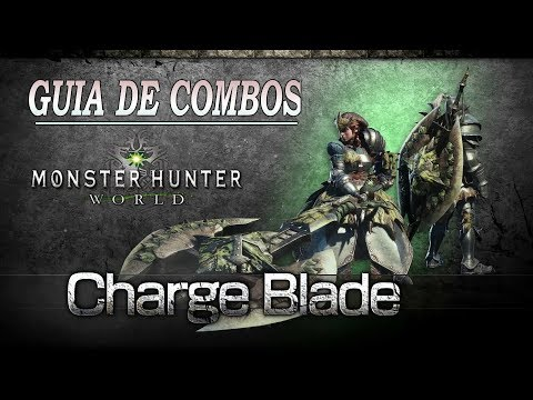 GUÍA: como usar HACHA CARGADA - Monster Hunter World (Gameplay Español)