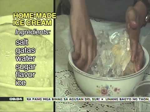 News to Go - Recipe for homemade ice cream 4/4/11
