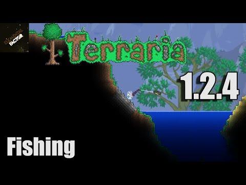 Terraria 1.2.4 Fishing | Terraria 1.2.4 Update