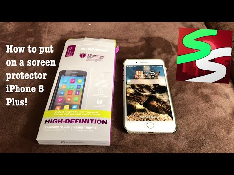 How To Put A Screen Protector on An iPhone 8 Plus
