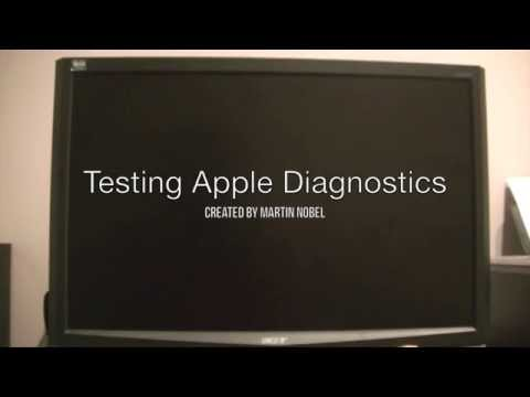 Apple Diagnostics Part 1