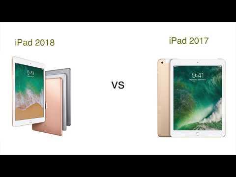 iPad 2018 vs iPad 2017 Specification Comparison | iSuperTech