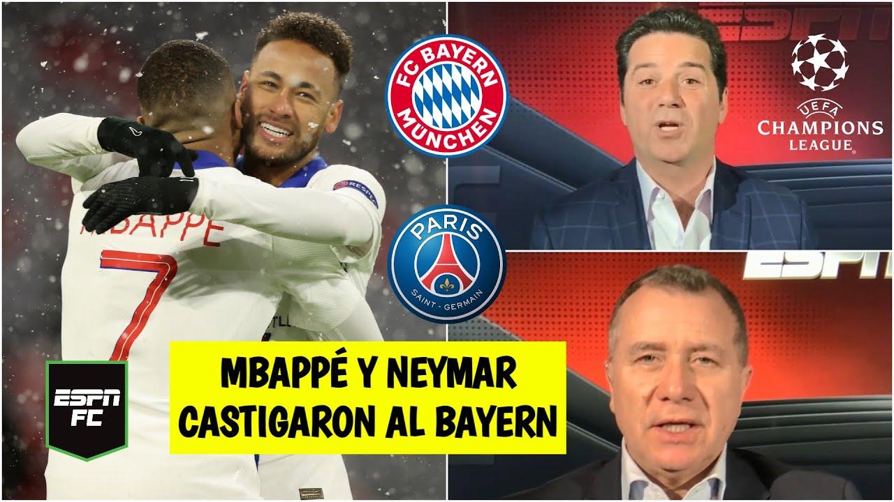 ANÁLISIS Mbappé y Neymar guiaron al PSG vs Bayern. ¿Definida la serie de Champions League? | ESPN FC