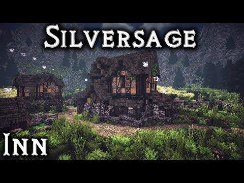 Minecraft: Silversage -  Ep8 - Inn (Live Stream)
