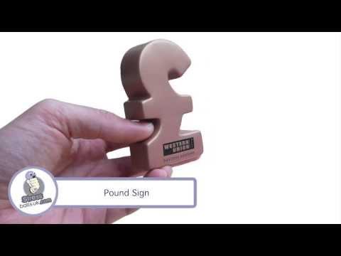 Pound Sign Shaped Stress Ball