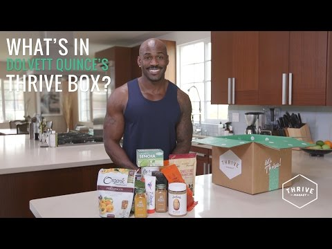 The Biggest Loser Trainer Dolvett Quince Shows Off His Favorite Foods