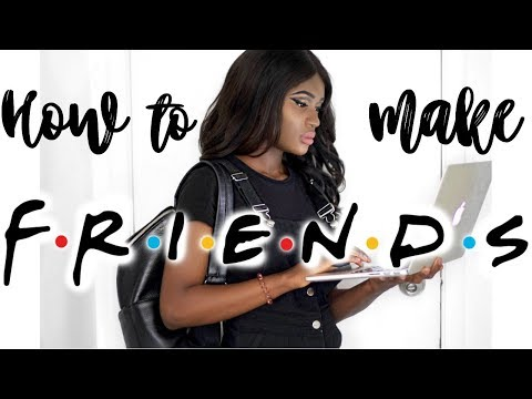 HOW TO MAKE FRIENDS  BACK TO SCHOOL 2017 ♡ MIGNONNE SYLLA