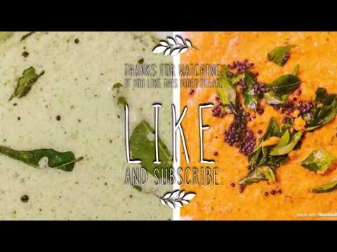 Tomato Chutney in Malayalam | Coconut Chutney South Indian Style