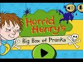 Horrid Henrys Big Box Of Pranks Ipad App Demo For Kids Phili