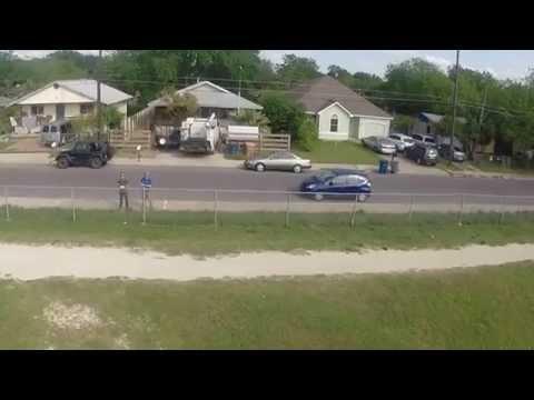 Quadrocopter Drone Flight - Fort Lott