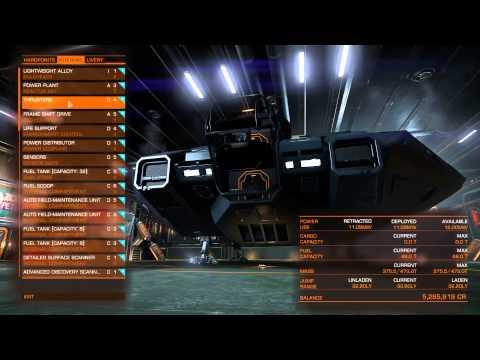 Elite Dangerous - Deep space exploration #1 - Fitting