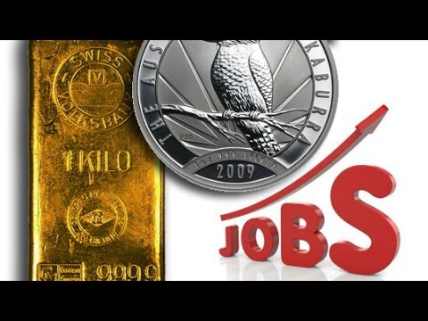 Unemployment Rate's Impact On Gold & Silver Prices
