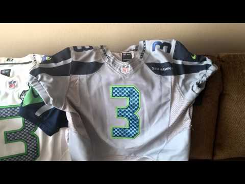 Seattle Seahawks jersey custom sleeve review