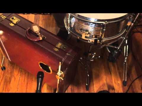 Suitcase Drum Kit - LugDrum Model 2
