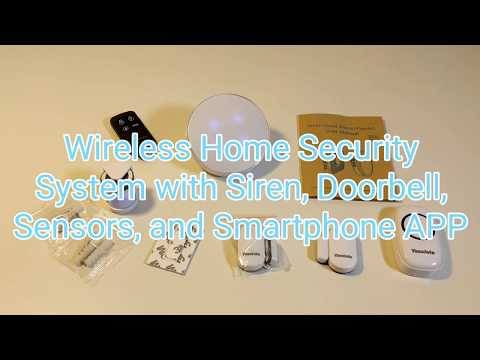 Wireless Home Security System Combo