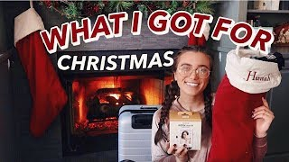 WHAT I GOT FOR CHRISTMAS 2017 | Hannah Meloche