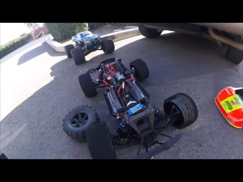 Traxxas X-Maxx 8s CRASHES AT 98.9mph from Blown Tire Speed Run!! New Personal Best
