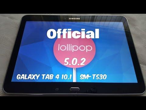 Samsung Galaxy Tab 4 10.1 Official Lollipop 5.0.2 Update 1st Look