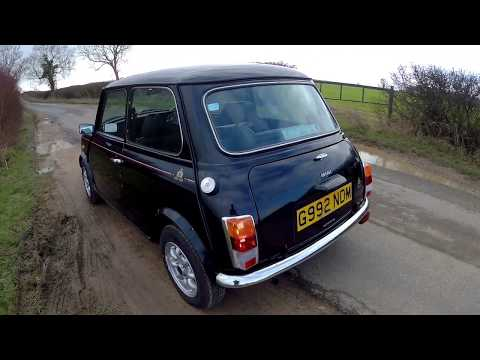 Classic Austin Mini 30 Edition 15k mile one owner survivor - First drive and MoT