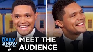 Trevor Gets to Know The Daily Show Studio Audience - Between the Scenes