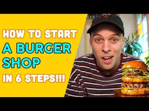 How to start A BURGER SHOP