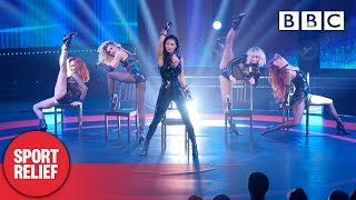 @The Pussycat Dolls perform 'React' live - Sport Relief 2020   BBC