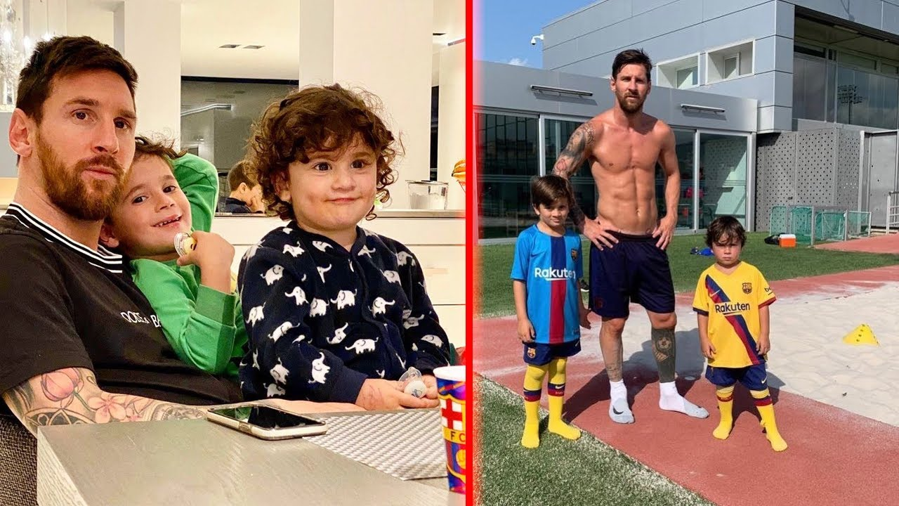 [EPIC!] Moments In Lionel Messi Real Life 😍😍